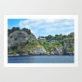 Taormina, Sicily II Art Print