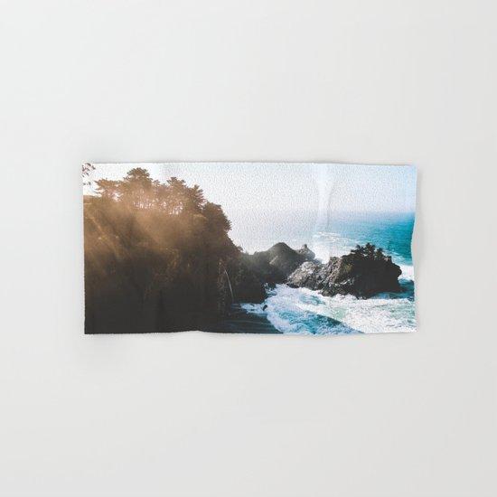 ocean falaise Hand & Bath Towel