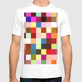 checkered times T-shirt