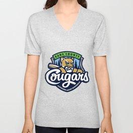 kane county cougars Unisex V-Neck