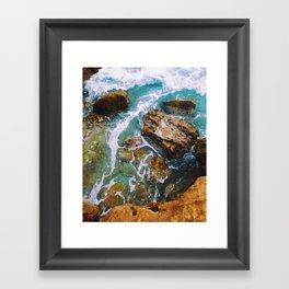 Waves pt. 1 Framed Art Print