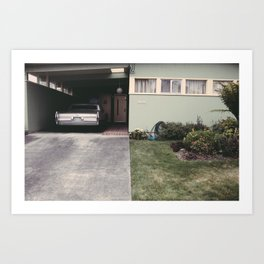 The front yard Art Print