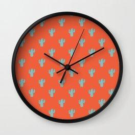 onda mexicana Wall Clock
