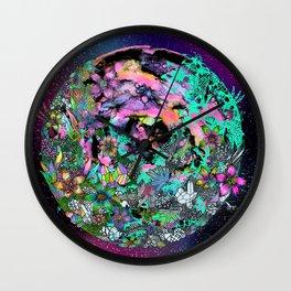 Earth Garden Wall Clock