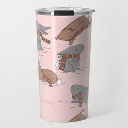 Hoppy Holidays Travel Mug