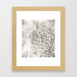 Tree Chimes Framed Art Print
