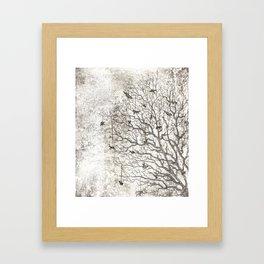 Tree Chimes Framed Art Print