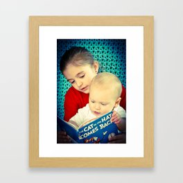Reading  Framed Art Print