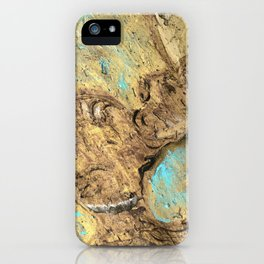 Unicorn on clay iPhone Case
