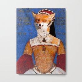 """Mary I """"Bloody Mary"""" Tudor Metal Print"""