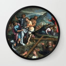 Preparation for the Crucifixion Wall Clock