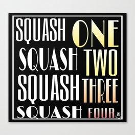 Squash One Canvas Print