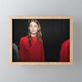 Backstage Framed Mini Art Print