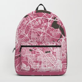 BALTIMORE Map Maryland   Pink   More Colors, Review My Collections Backpack