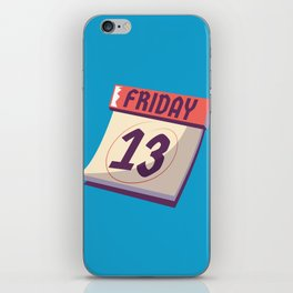 Friday the 13th iPhone Skin