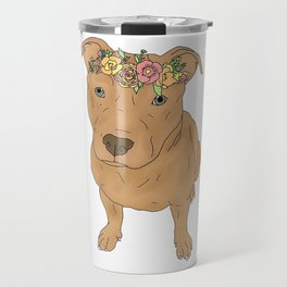 Colourful Pit Bulls, Pit Bulls Gift Travel Mug