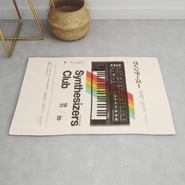 Synthesizers Club Rug