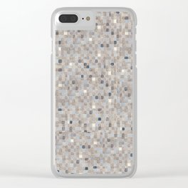 Iteration -Sunshine- (Extra Large No. 4) Clear iPhone Case