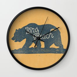 Long Beach, California Wall Clock