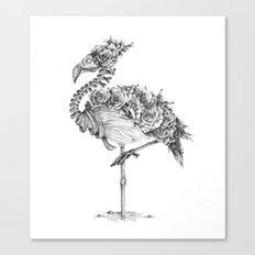 Panacea (Black and White Version) Canvas Print