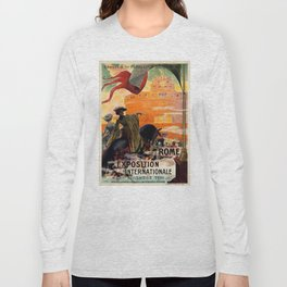 Rome 1911 world exposition Long Sleeve T-shirt
