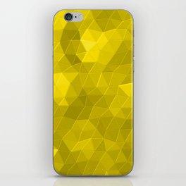 Kaleidoscope Series Yellow iPhone Skin