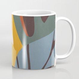Abstract Art Jungle Coffee Mug