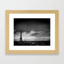Paris, from Lafayette Framed Art Print