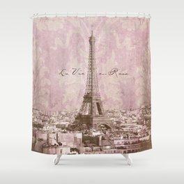 romantic Paris Shower Curtain