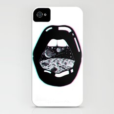 Space Lips iPhone (4, 4s) Slim Case