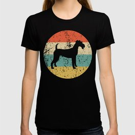Irish Terrier Vintage Retro Irish Terrier Dog T-shirt