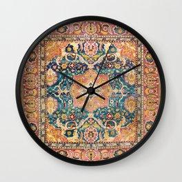 Amritsar Punjab North Indian Rug Print Wall Clock