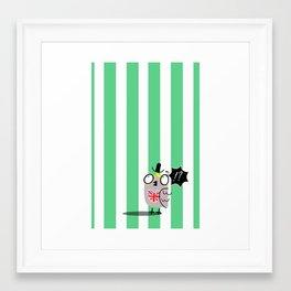 WHAT MR OWL? Framed Art Print