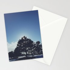center tree  Stationery Cards