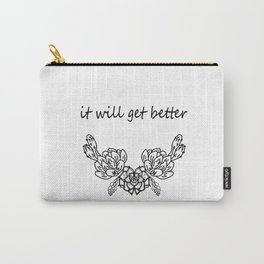 It will get better . Сacti Carry-All Pouch
