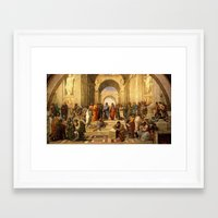 renaissance Framed Art Prints featuring renaissance by Nechifor Ionut