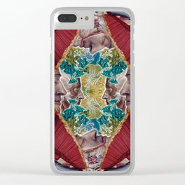 Beyond the Veil of Flesh Clear iPhone Case