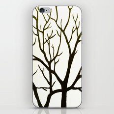 WHITE TREE iPhone & iPod Skin