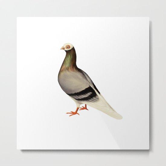 Le Pigeon Metal Print