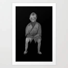 Zombies in my backyard: Lost in Translation Art Print