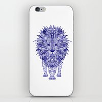 lion iPhone & iPod Skins featuring LIon by Monika Strigel®