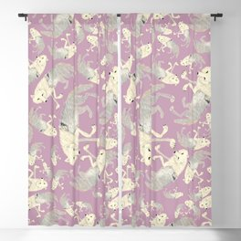 Totem Artic Wolf lilac Blackout Curtain