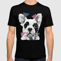 Frenchie Mens Fitted Tee MEDIUM Black