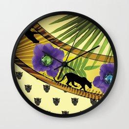 givenchy fashion fantasy Wall Clock