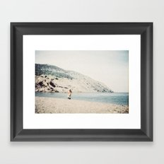 meat cove Framed Art Print