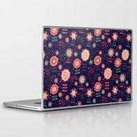 flora Laptop & iPad Skins featuring Flora by Valendji