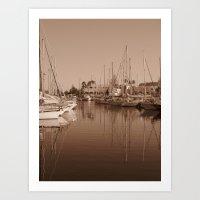 The Harbour II Art Print