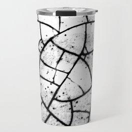 Crackled texture Travel Mug