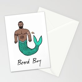 Beard Boy Merman: Nemo Stationery Cards