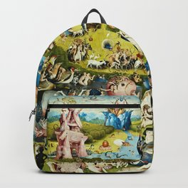 Hieronymus Bosch - The Garden Of Earthly Delights Backpack